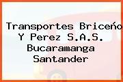 Transportes Briceño Y Perez S.A.S. Bucaramanga Santander