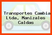 Transportes Cambia Ltda. Manizales Caldas