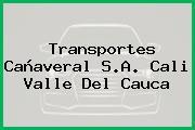 Transportes Cañaveral S.A. Cali Valle Del Cauca