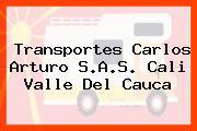 Transportes Carlos Arturo S.A.S. Cali Valle Del Cauca