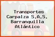 Transportes Carpalza S.A.S. Barranquilla Atlántico