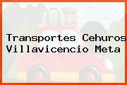 Transportes Cehuros Villavicencio Meta