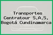 Transportes Centratour S.A.S. Bogotá Cundinamarca