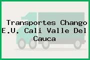 Transportes Chango E.U. Cali Valle Del Cauca