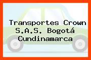 Transportes Crown S.A.S. Bogotá Cundinamarca