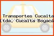 Transportes Cucaita Ltda. Cucaita Boyacá