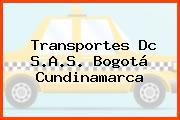 Transportes Dc S.A.S. Bogotá Cundinamarca
