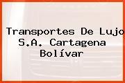 Transportes De Lujo S.A. Cartagena Bolívar