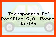 Transportes Del Pacífico S.A. Pasto Nariño