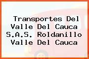 Transportes Del Valle Del Cauca S.A.S. Roldanillo Valle Del Cauca