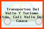 Transportes Del Valle Y Turismo Ltda. Cali Valle Del Cauca