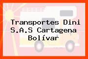 Transportes Dini S.A.S Cartagena Bolívar