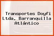 Transportes Doyfi Ltda. Barranquilla Atlántico