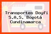 TRANSPORTES DOYFI S.A.S. Bogotá Cundinamarca