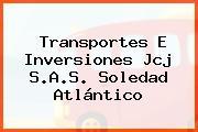 Transportes E Inversiones Jcj S.A.S. Soledad Atlántico