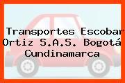 Transportes Escobar Ortiz S.A.S. Bogotá Cundinamarca