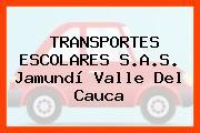 TRANSPORTES ESCOLARES S.A.S. Jamundí Valle Del Cauca