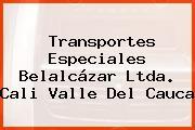 Transportes Especiales Belalcázar Ltda. Cali Valle Del Cauca