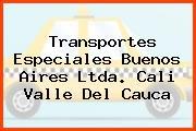 Transportes Especiales Buenos Aires Ltda. Cali Valle Del Cauca