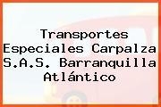 Transportes Especiales Carpalza S.A.S. Barranquilla Atlántico