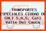 TRANSPORTES ESPECIALES CIUDAD DE CALI S.A.S. Cali Valle Del Cauca