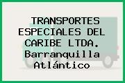 TRANSPORTES ESPECIALES DEL CARIBE LTDA. Barranquilla Atlántico