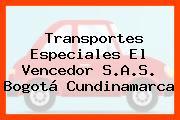 Transportes Especiales El Vencedor S.A.S. Bogotá Cundinamarca