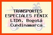 TRANSPORTES ESPECIALES FÉNIX LTDA. Bogotá Cundinamarca