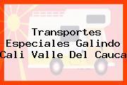 Transportes Especiales Galindo Cali Valle Del Cauca