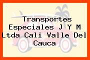 Transportes Especiales J Y M Ltda Cali Valle Del Cauca