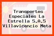 Transportes Especiales La Estrella S.A.S Villavicencio Meta