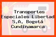 Transportes Especiales Libertad S.A. Bogotá Cundinamarca