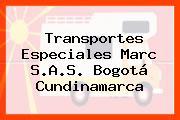 Transportes Especiales Marc S.A.S. Bogotá Cundinamarca