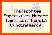 Transportes Especiales Marcer Tem Ltda. Bogotá Cundinamarca