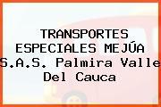 TRANSPORTES ESPECIALES MEJÚA S.A.S. Palmira Valle Del Cauca