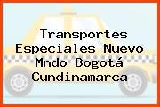 Transportes Especiales Nuevo Mndo Bogotá Cundinamarca