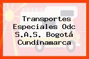 Transportes Especiales Odc S.A.S. Bogotá Cundinamarca