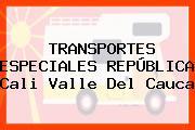 TRANSPORTES ESPECIALES REPÚBLICA Cali Valle Del Cauca