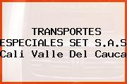 Transportes Especiales Set S.A.S. Cali Valle Del Cauca