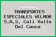 TRANSPORTES ESPECIALES VELMOR S.A.S. Cali Valle Del Cauca