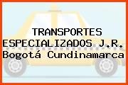 TRANSPORTES ESPECIALIZADOS J.R. Bogotá Cundinamarca