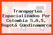 Transportes Especializados Por Colombia S.A.S. Bogotá Cundinamarca
