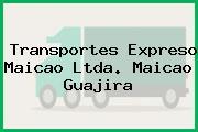 Transportes Expreso Maicao Ltda. Maicao Guajira
