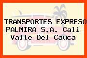 TRANSPORTES EXPRESO PALMIRA S.A. Cali Valle Del Cauca