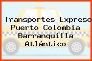 Transportes Expreso Puerto Colombia Barranquilla Atlántico