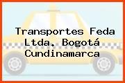 Transportes Feda Ltda. Bogotá Cundinamarca
