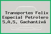 Transportes Felix Especial Petrolero S.A.S. Gachantivá