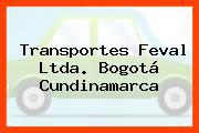 Transportes Feval Ltda. Bogotá Cundinamarca
