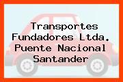 Transportes Fundadores Ltda. Puente Nacional Santander