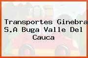 Transportes Ginebra S.A Buga Valle Del Cauca